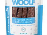 Snack Woolf Tiras Salmón y Zanahoria
