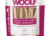 Snack Woolf Sandwich Largo Pato y Bacalao