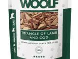 Snack Woolf Triángulos Cordero y Bacalao
