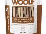 Snack Woolf Sandwich largo Conejo y Bacalao