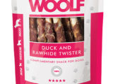 Snack Woolf Rollitos Masticables Pato
