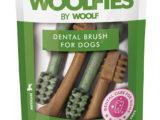 Cepillo dental mediano para perro