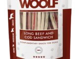 Snack Woolf Sandwich Largo Ternera y Bacalao